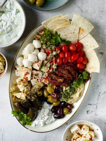 Anna_Lee_Eats_Vegetarische_Mezze_Platte