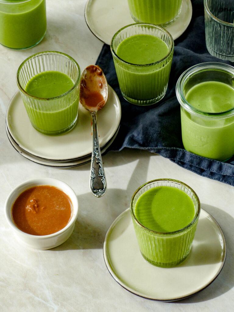 Grüne Smoothie Shots - einfach und gesund - Anna Lee EATS.